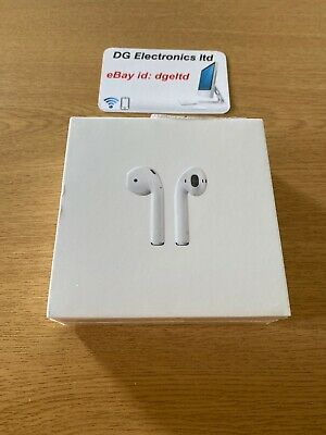 Genuine Apple AirPods 2nd Generation with Charging Case - White A2032 New Sealed