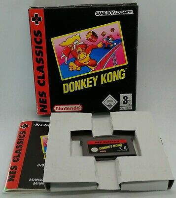 Classic NES Series: Donkey Kong for Nintendo Game Boy Advance PAL BOXED