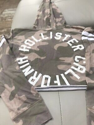Girls Hollister Graphic Long Sleeve Top Size Xs