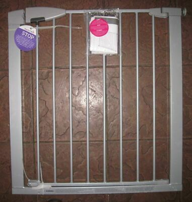 """""""Munchkin"""" aluminum Easy Close child or pet gate. NEW with missing parts"""