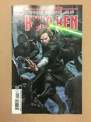 Star Wars The Rise Of Kylo Ren #2 2Nd Printing Variant Signed By Will Sliney