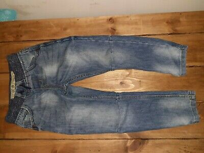 Boys Jeans Primark3/4 Years Blue pull on