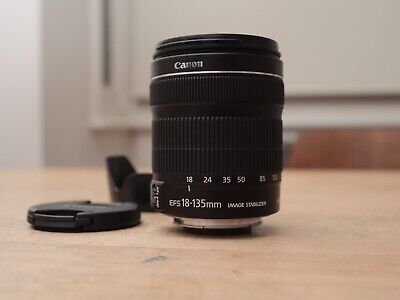 Canon EF-S 18-135mm f/3.5-5.6 IS STM Lens - excellent condition