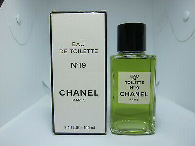 CHANEL No 19 100 ml 3.4 oz Eau de Toilette EDT perfume EG48