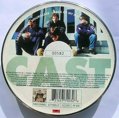 RARE! CAST Sandstorm Polydor 577903-2 CD Single Ltd Edn Tin 1996 UK No.00582 VGC
