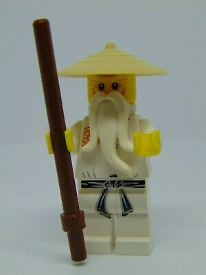 Genuine Lego Ninjago Master Wu Dojo Leader Mini Figure