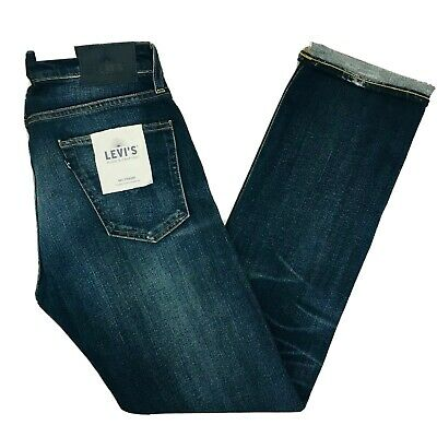 Levi's Made & Crafted RAIL STRAIGHT Selvedge Jeans Size W28 W30 W32 L32 L34