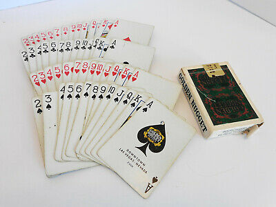 Golden Nugget Hotel Casino Cards-Punched-Downtown Las Vegas, No Jokers Z 6228
