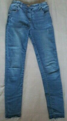 Girls Blue Denim Distressed Skinny Jeans From TU At Sainsbury's Aged 11 Years