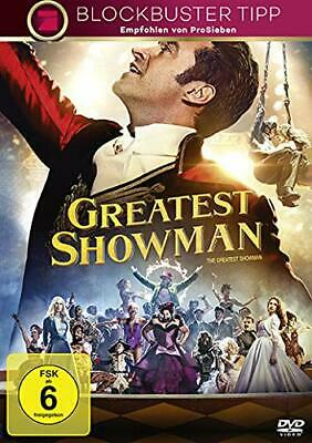 GREATEST SHOWMAN Hugh Jackman DVD NEU & OVP