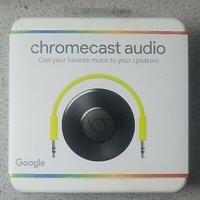 Google Chromecast Audio Media Streamer - BRAND NEW, seal not broken