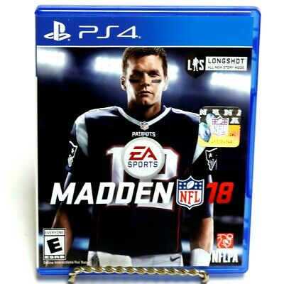 EA Sports Madden NFL 18 Football Sony Playstation 4 Video Game PS4 (GO1039383)