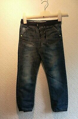 Boys Jeans trousers Denim  Age 7-8 yrs Slim 128cm  Blue