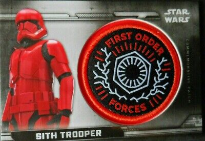 Sith Trooper Topps Star Wars The Rise Of Skywalker Patch Cards Pc-Fo