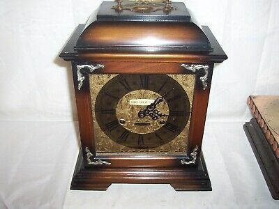 Lovely Large President 30 Day Mantle,Bracket Clock With Platform Escapement
