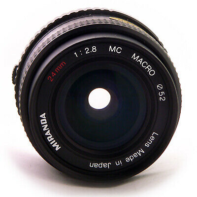 OLYMPUS OM MOUNT PANCAKE 2MM F2.8 lens fit CANON SONY FUJI MIRRORLESS MFT 05711