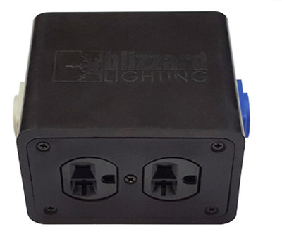 PowerCON™ Compatible..In/Out to Quad Edison Stage Drop Box