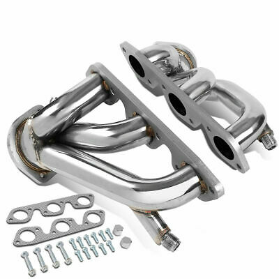 BFC-BuildFastCar 11-1001 Stainless Steel Exhaust Shorty Header Manifold Set For Chrysler 05-10 300//Dodge 09-10 Challenger//06-10 Charger//05-07 Magnum V6 3.5L SOHC