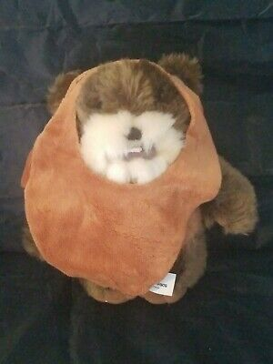 Star Wars Ewok Wicket Stuffed Animal Plush Doll Disney Parks