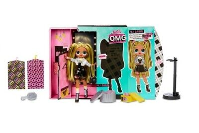 LOL Surprise OMG Fashion Doll ALT GRRRL Series 2 Puppe NEU PUPPE MIT HAAREN