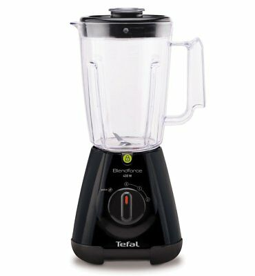 Tefal Blendforce  Blender with 1.5 L Jug - 400 Watt Black.