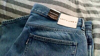 Levis Line 8 slim Straight 36w-32l new with tags, Levi Strauss &Co
