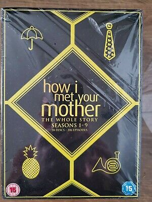 How I Met Your Mother Complete Series 1-9 DVD Season 2 3 4 5 6 7 8 Jason Segel