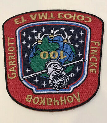 Soyuz TMA 13 Russia Iron On Embroidered Patch