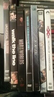 used dvds buy 2 get 1 free action, romance, horror, marvel movies