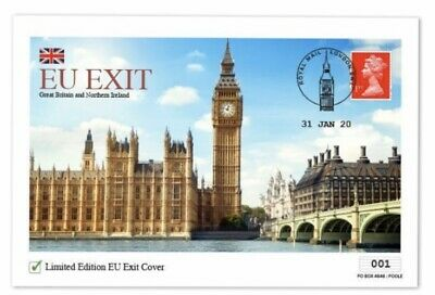 Brexit Cover 2020 Limited Edition EU Exit Day 995 Only
