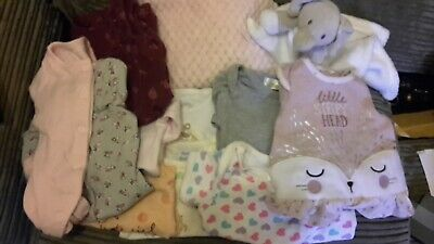 Baby Girl Clothes Bundle Newborn 1m to 3 months