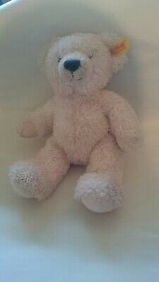 My First Steiff Pink Teddy Bear Soft Hug Toy Baby Comforter Cuddly Plush