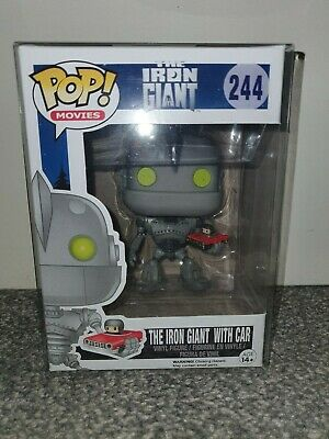 Funko Pop Vinyl Figure Iron Giant With Car Vaulted Rare
