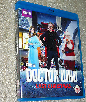 Doctor Who - Last Christmas [Blu-ray] Genuine UK 2015 Release *Christmas Special