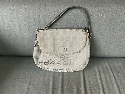 Michael Kors silver / grey handbag