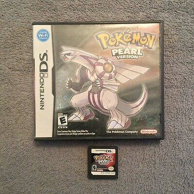 Pokemon: Pearl Version (DS, 2007) Authentic, Tested *No Manual*