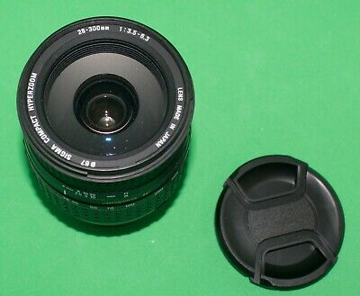 Sigma 28-300mm f3.5-6.3 DL Hyperzoom Aspheric IF, for Canon EOS EF