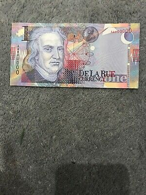 2005 UK UNC DE LA RUE CURRENCY TEST NOTE NELSON 200