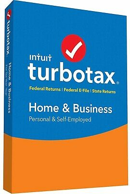 BRAND NEW Intuit TurboTax Home & Business 2015 Fed + St Window or Mac FREE SHIP!