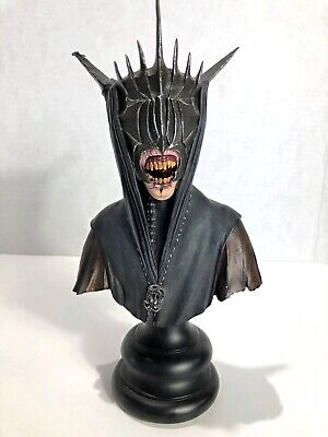 LOTR : The Mouth Of Sauron  1/4 Scale Polystone Bust Sideshow Weta 0981/4000