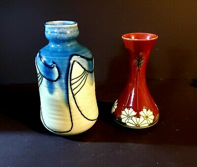 Wonderful Pair of Minton Secessionist Nouveau Vases c.1905 Sold at No Reserve