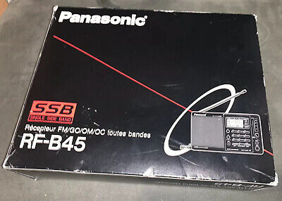 Panasonic Rf-b45 All Band Reciever Box Only Instructions And Guide