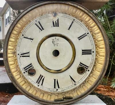 Antique Waterbury Dial Bezel with Good Glass