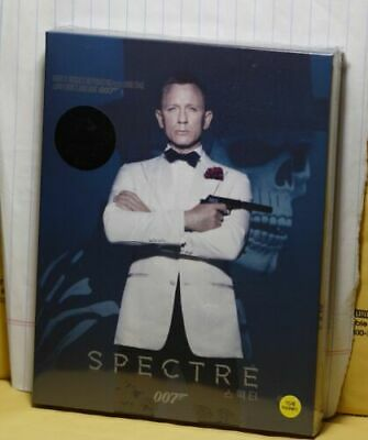 Craig Collection 4 BLURAY DISCS w/SPECTRE & DIGITAL CODES but NO 4K DISCS or BOX
