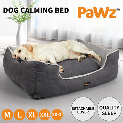 PawZ Pet Bed Dog Beds Mattress Bedding Cover Calming Cushion Medium Large Cat