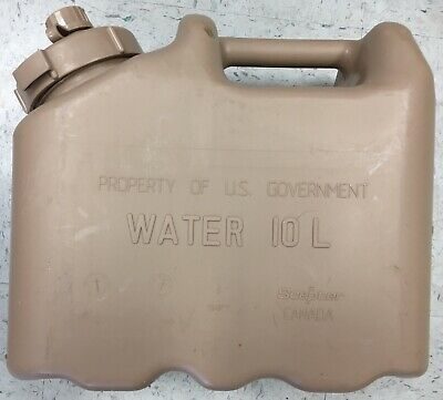 New US ARMY Scepter Sand Tan Jerry WATER Can REAL Military MWC 2.5gl 10L..