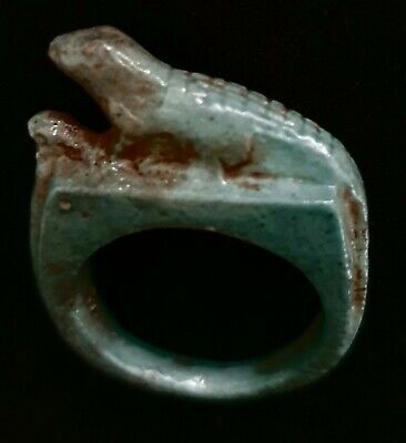Egyptian Glazed Faience Ring