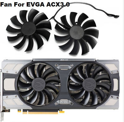 Fan For EVGA GeForce GTX 1080 1070 1070Ti FTW2 GAMING ACX3 Graphics Card Cooling