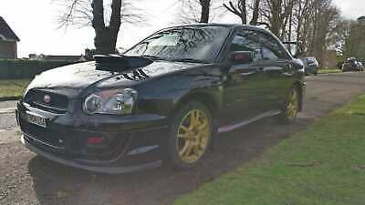 Subaru Impreza WRX STi Type UK 2004