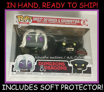 POP! Games: Dungeons and Dragons Drizzt Do'Urden with Guenhwyvar 2 Pack PRESALE